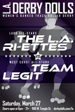 L.A. Ri-Ettes vs. Team Legit