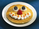 Free Scary Face Pancake