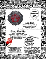 Music Saves Lives' Punk Rock Comedy Benefit