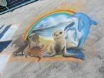 Redondo Pier Chalk Art Festival
