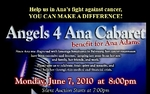 Angels 4 Ana Benefit Cabaret
