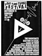 2nd Annual Part Time Punks Festival