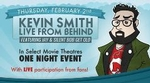"Kevin Smith: Live From Behind Featuring ""Jay and Silent Bob Get Old"""