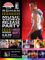 Roman Music Video Release Party
