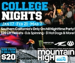 College Night at Mountain High