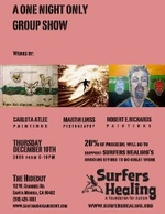 A One Night Only Group Art Show