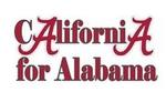 California for Alabama