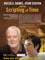 Russell Banks, Atom Egoyan and the Scripting of Time
