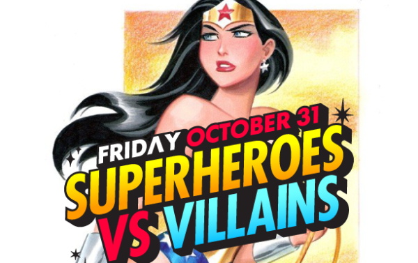 Superheroes vs. Villains Party