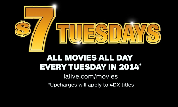 $7 Movie Tuesdays
