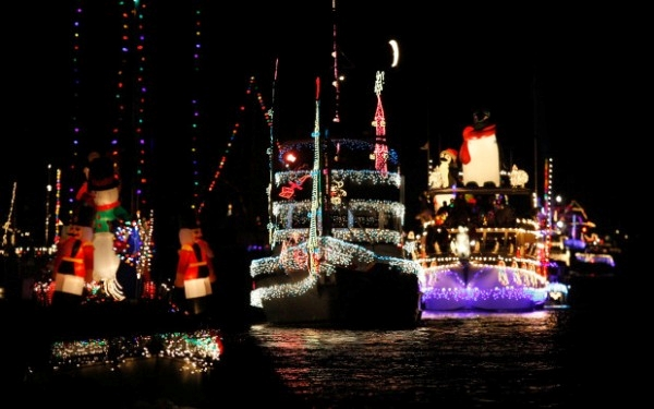 Newport Beach Annual Christmas Boat Parade