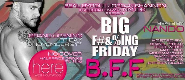 BFF (Big F**king Friday)