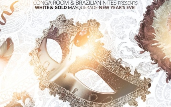 White & Gold Masquerade