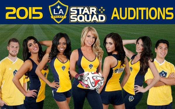 L.A. Galaxy Star Squad Audition