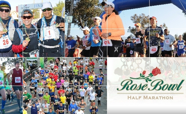 Rose Bowl Half Marathon