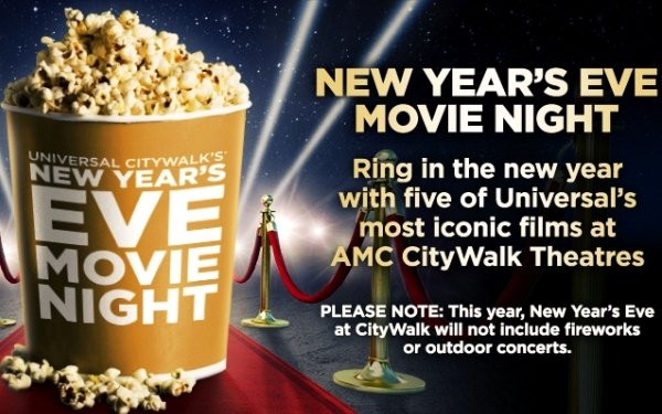 New Year's Eve Movie Night