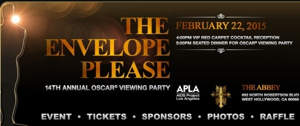The Envelope Please: Oscar Viewing Party