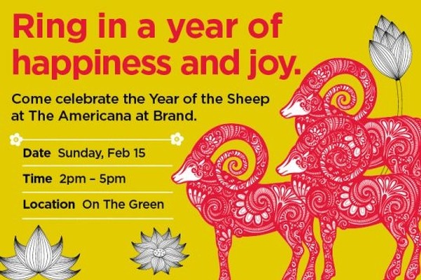 Year of the Sheep Celebration