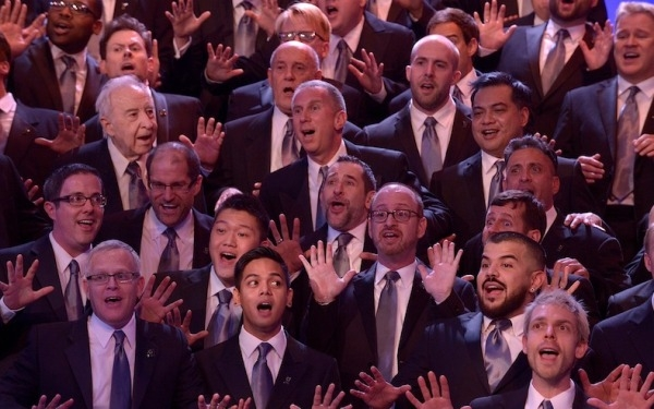 Gay Men's Chorus Goes Down Under