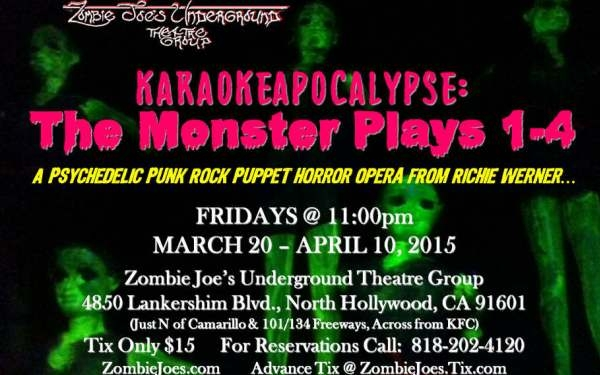 Karaokeapocalypse: The Monster Plays 1-4