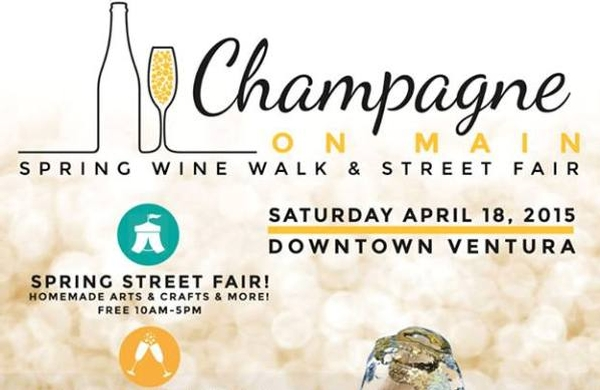 Ventura's Champagne on Main Spring Wine Walk & Street Faire