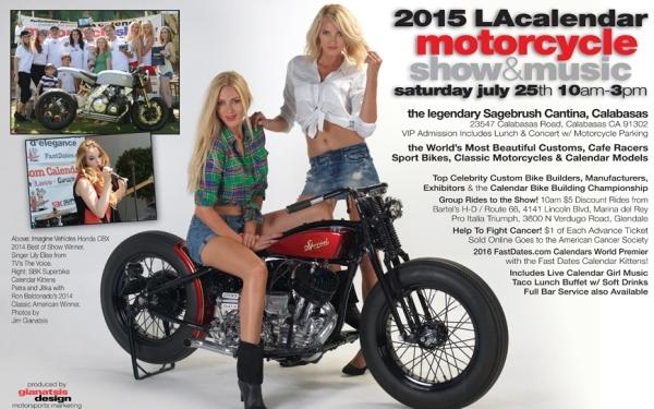Los Angeles Calendar Motorcycle Show & Concert
