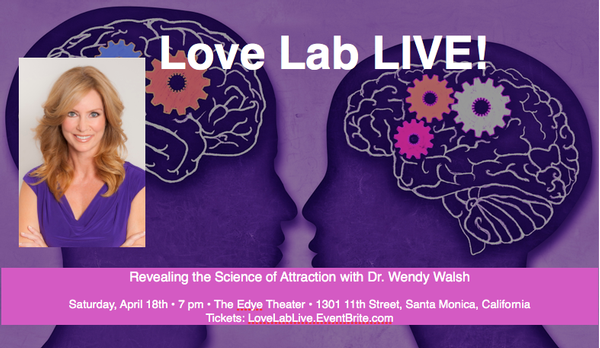 Dr. Wendy Walsh: Love Lab Live