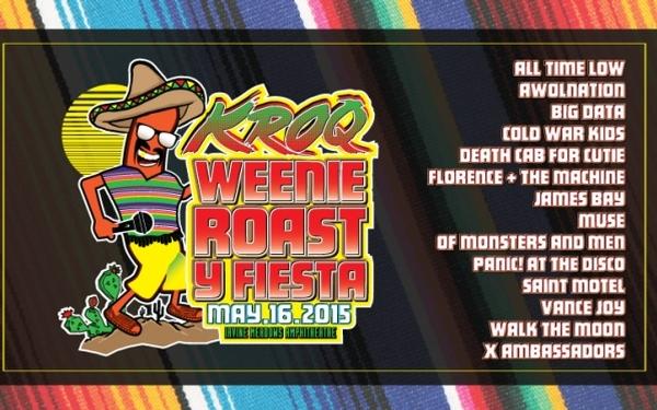 KROQ Weenie Roast Y Fiesta