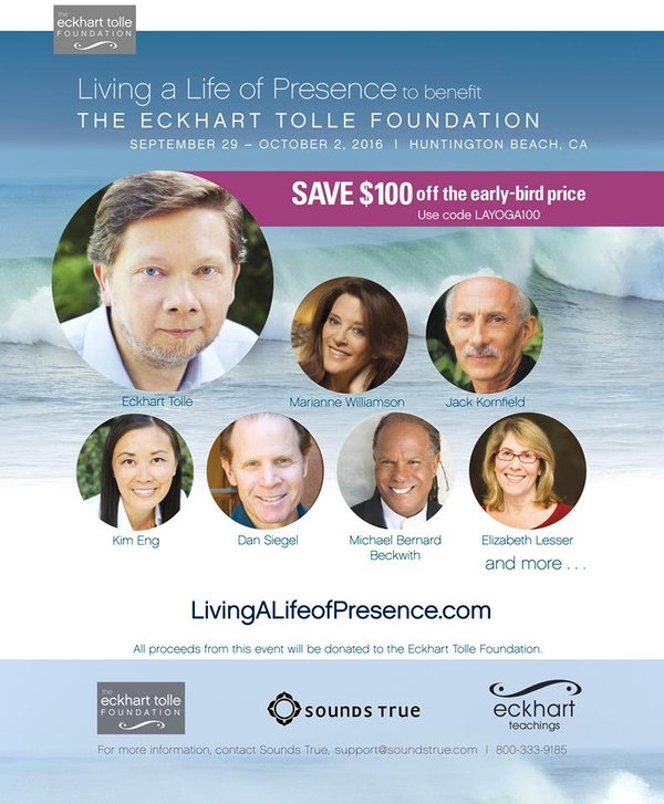 A Four-Day Community Experience with Eckhart Tolle & Friends