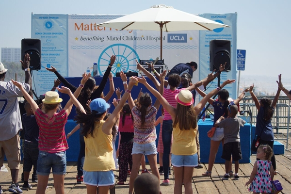 COME OUT AND PLAY FOR A CAUSE at MATTEL PARTY ON THE PIER on September 25th!