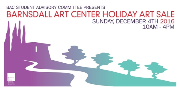 Barnsdall Art Center Holiday Art Sale & Fundraiser on December 4 from 10am to 4pm