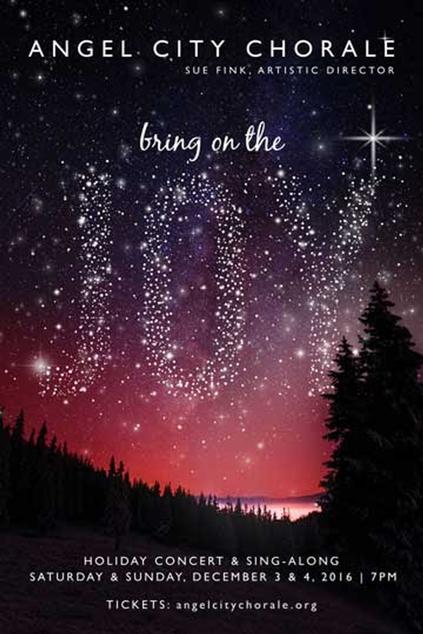Angel City Chorale Presents Bring on the Joy
