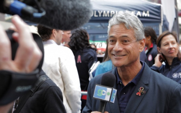 Greg Louganis, Olympic champ and gay pioneer, recounts highs and plunges