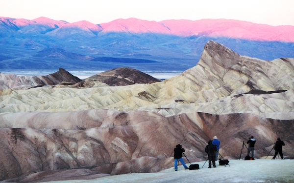 Dramatic rock formations, barren landscape give Death Valley feel of unexplored frontier