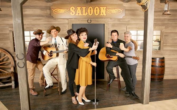Madame Tussauds Hollywood Welcomes Country Music Legends Johnny Cash, Pastsy Cline and Hank Williams