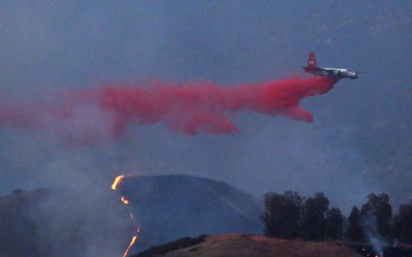 $75,000 in rewards offered to catch operators who flew drones above fires