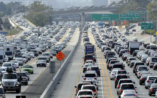 Is L.A.'s traffic the worst in the U.S.? Depends on how you measure it
