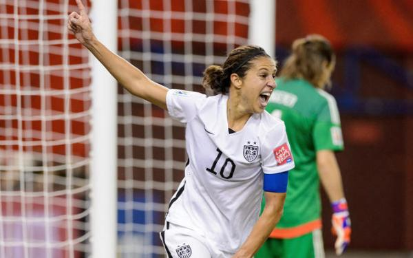 US women's soccer team is back on big stage, and America loves it