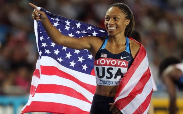 Former USC star Allyson Felix won't run the 200 at world championships