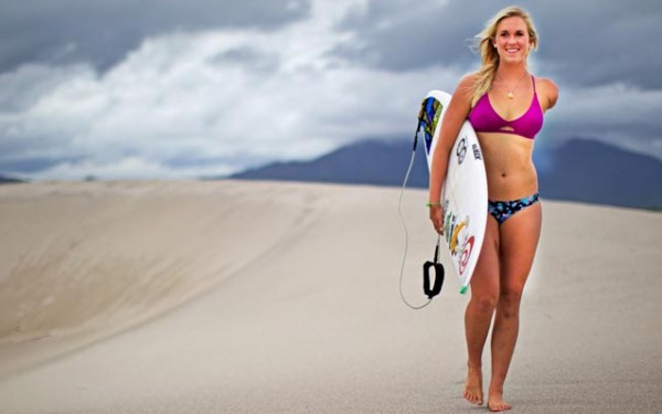 Surfer Bethany Hamilton is ready to compete again after birth of son