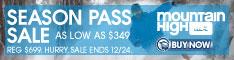 Mtn. High Season Pass 2014