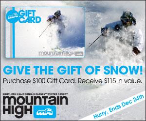Mtn. High Gift Card 2014