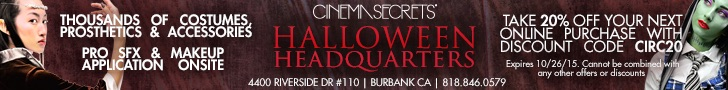 Cinema Secrets 2015