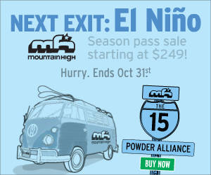 Mtn. High Season Pass 2015