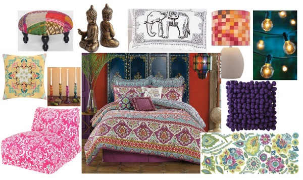 Relax, Chill Out & Lay Back in Your Sexy, Bohemian Chic Room!