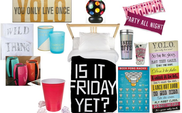 Girls Just Wanna Have Fun—Make Your Room Party Central!