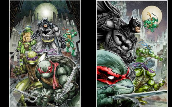 In 'TMNT / Batman,' James Tynion takes the turtles to Gotham, IDW panel announces