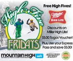 Mountain High High 5 Fridays
