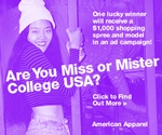 American Apparel College Model Search