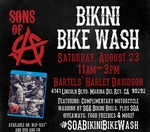 Sons of Anarchy Bikini Motorcycle Wash